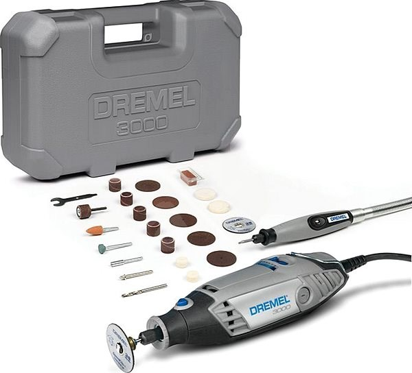DREMEL 3000 Series EZ Wrap Case - Straight Grinder
