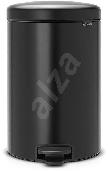 Brabantia, pedálový koš newlcon 20l barva matná černá - Odpadkový koš