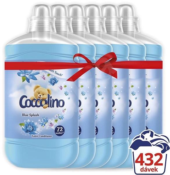 COCCOLINO Blue Splash 6 × 1,8 l (432 praní) - Aviváž