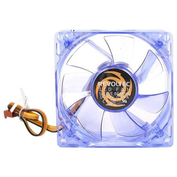 REVOLTEC Dark Blue 120mm - Ventilátor