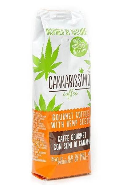 Cannabissimo coffee, mletá, 250g - Káva