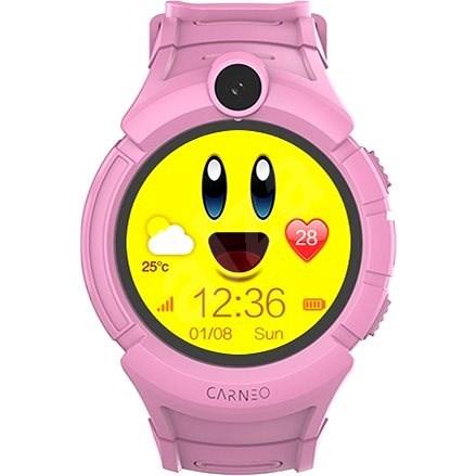 Carneo Guard Kid+ Pink - Chytré hodinky  a1974f83206