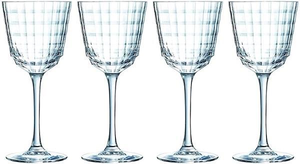 CRISTAL D´ARQUES Sklenice na bílé víno 350ml IROKO 4ks - Sklenice na víno
