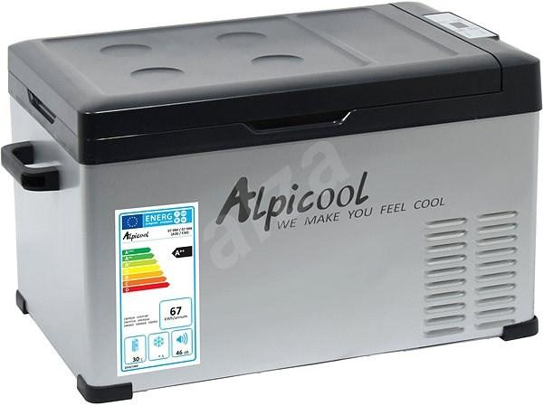 Compass 30l 230/24/12V -20°C GREY - Cool Box
