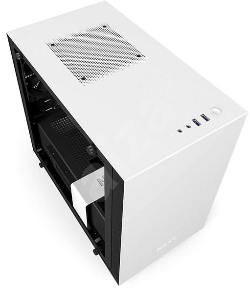 NZXT H200i matná bílá - Počítačová skříň