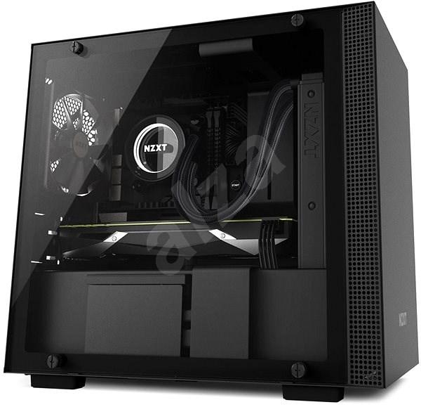 NZXT H200 černá - Počítačová skříň