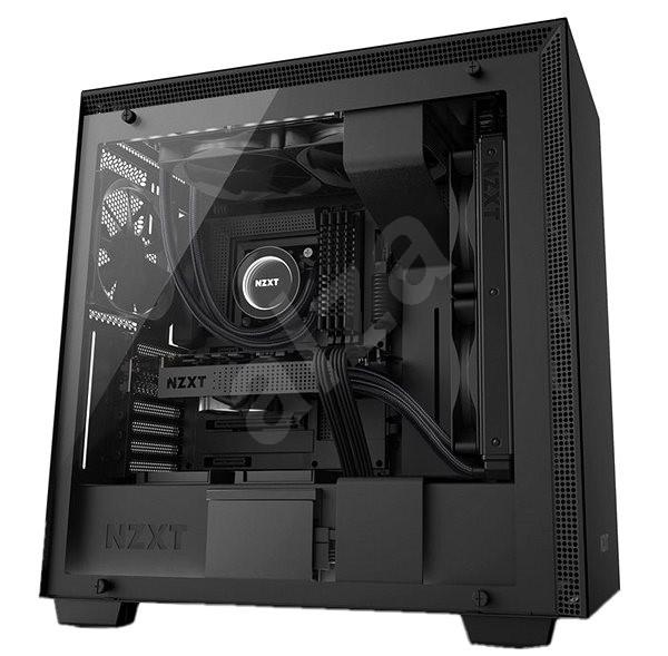 NZXT H700i černá - Počítačová skříň