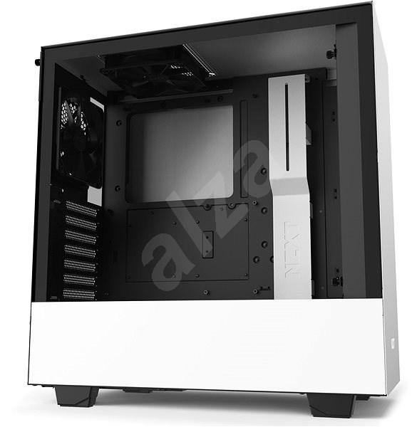 NZXT H510 bílá - Počítačová skříň