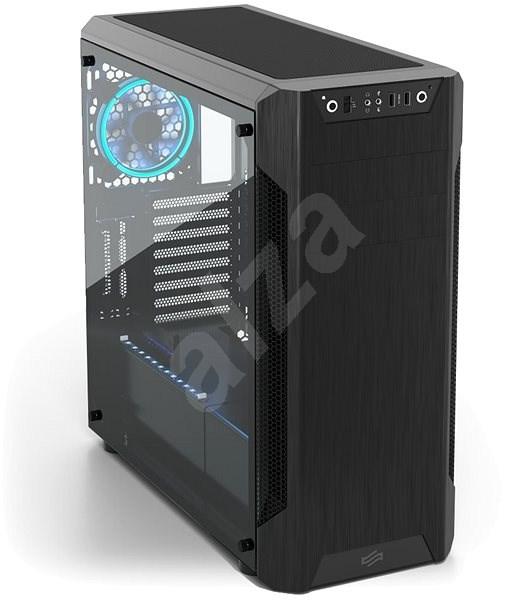 SilentiumPC Armis AR7 TG Black - Počítačová skříň