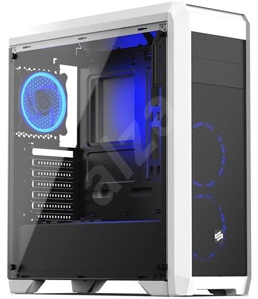 SilentiumPC Regnum RG4T RGB Frosty White - Počítačová skříň