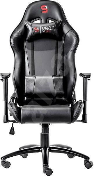 f5e2ff75f3ea SPC Gear SR300 černá - Herní židle