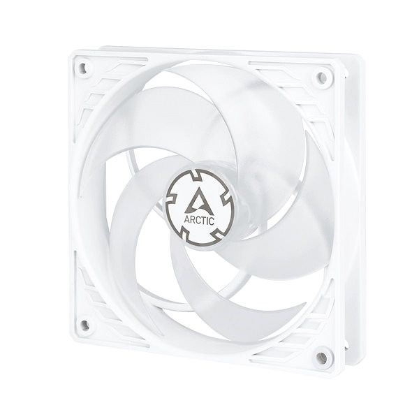 ARCTIC P12 PWM 120mm bílý/transparentní - Ventilátor do PC