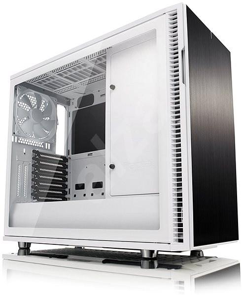 Fractal Design Define R6 USB-C  Tempered Glass White - Počítačová skříň
