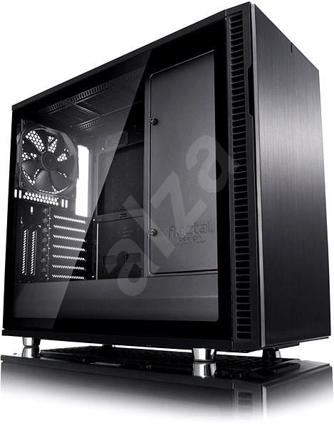 Fractal Design Define R6 Blackout Tempered Glass - Počítačová skříň