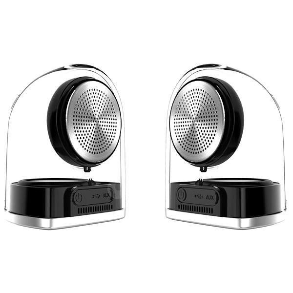 CEL-TEC Stereo Master Transparent - Bluetooth reproduktor  4fd6f44939