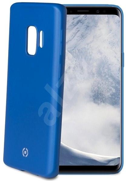 CELLY SoftMatt pro Samsung Galaxy S9 modré - Kryt na mobil