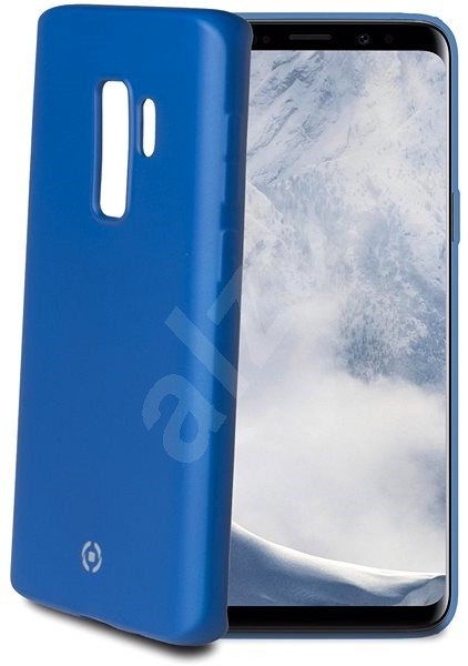 CELLY SoftMatt pro Samsung Galaxy S9+ modré - Ochranný kryt  5f0d5c521b9
