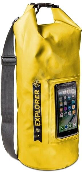 "CELLY Explorer 10L s kapsou na telefon do 6.2"" žluté - Vak"