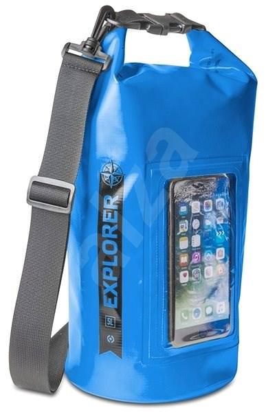"""CELLY Explorer 5L s kapsou na telefon do 6.2"""" modré - Vak"""