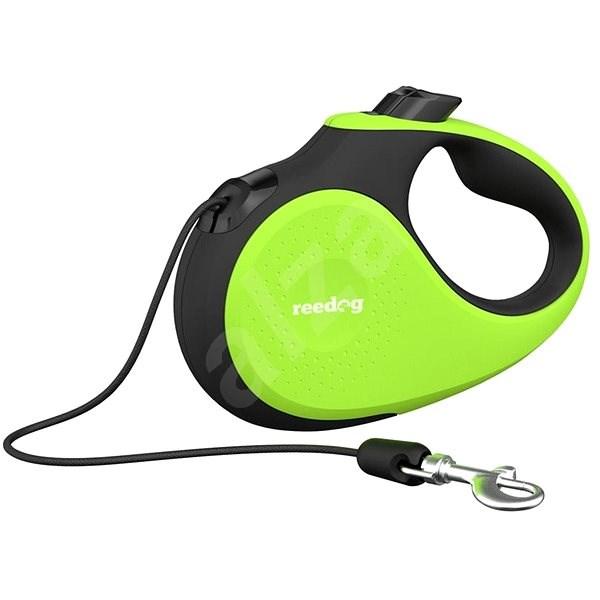 Reedog Senza Premium samonavíjecí vodítko XS 8 kg / 3 m lanko / zelené - Vodítko pro psa