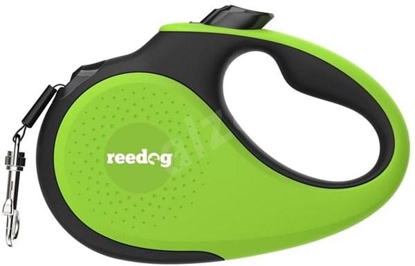 Reedog Senza Premium samonavíjecí vodítko XS 12 kg / 3 m páska / zelené - Vodítko pro psa
