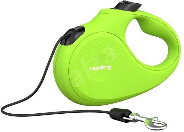 Reedog Senza Basic samonavíjecí vodítko XS 8 kg / 3 m lanko / zelené - Vodítko pro psa