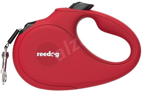 Reedog Senza Basic samonavíjecí vodítko S 15 kg / 5 m páska / červené - Vodítko pro psa