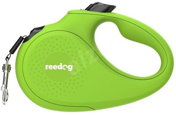 Reedog Senza Basic samonavíjecí vodítko M 25 kg / 5 m páska / zelené - Vodítko pro psa