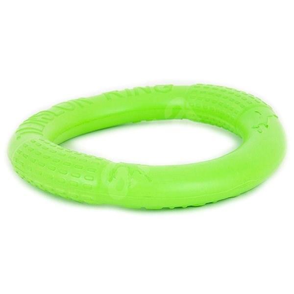 Akinu výcvik kruh velký zelený 26 cm - Hračka pro psy