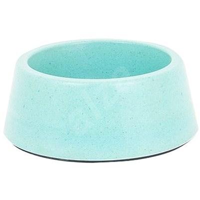Akinu ECO Bamboo Bowl, Blue 500ml - Dog Bowl