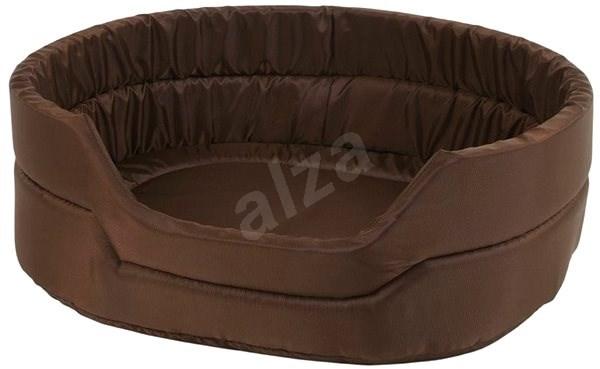 Olala Pets Agga LOW č.3, pelíšek pro mazlíčky 53 × 44 × 16 cm, hnědá - Pelíšek pro psy