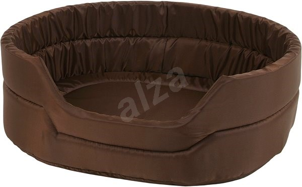Olala Pets Agga LOW č.7, pelíšek pro mazlíčky 82 × 68 × 22 cm, hnědá - Pelíšek pro psy