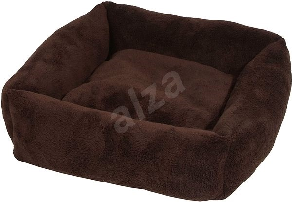 Olala Pets Cube LOW A21, pelíšek pro psy 53 × 53 cm, hnědá - Pelíšek pro psy