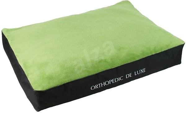 Olala Pets De Luxe Ortopedic Mattrass 100 x 70cm A23, Green - Dog Bed
