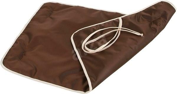 Olala Pets Cestovní podložka 70 × 45 cm - hnědá - Pelíšek pro psy