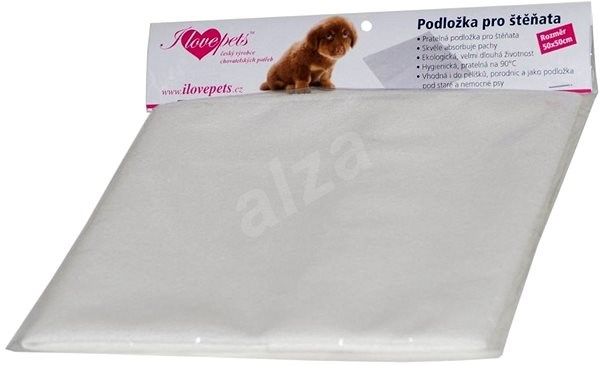 Olala Pets Absorbent Pad for Puppies, 65 × 65cm - Absorbent pad