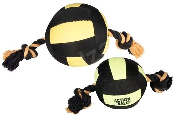 Karlie-Flamingo hračka akční balón, černý/žlutý, 18cm - Míček pro psy