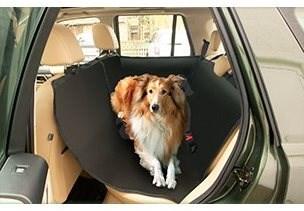 Karlie-Flamingo Cestovní potah/kabina do auta černá, 135x148cm - Deka pro psa do auta