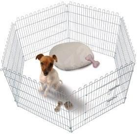 Karlie-Flamingo Klec pro štěňata průměr 160cm/80cm - Klec pro psa