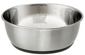 Karlie-Flamingo SELECTA Stainless-steel Bowl. 25cm, 3650ml - Dog Bowl