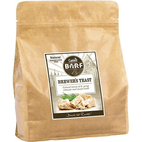 Canvit BARF Brewer's Yeast 800 g - Food supplement for dogs