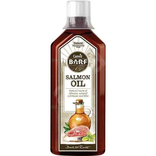 Canvit BARF Salmon Oil 0,5 l - Doplněk stravy pro psy