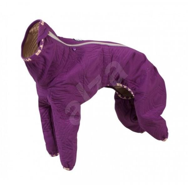 Obleček Hurtta Casual prošívaný overal fialový 30L - Obleček pro psy