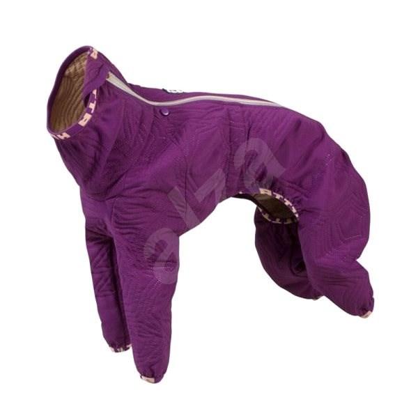 Obleček Hurtta Casual prošívaný overal fialový 50L - Obleček pro psy