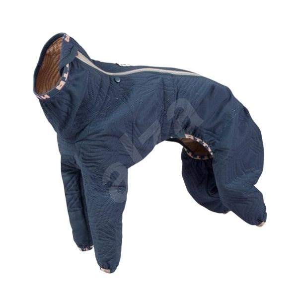 Obleček Hurtta Casual prošívaný overal modrý 40L - Obleček pro psy