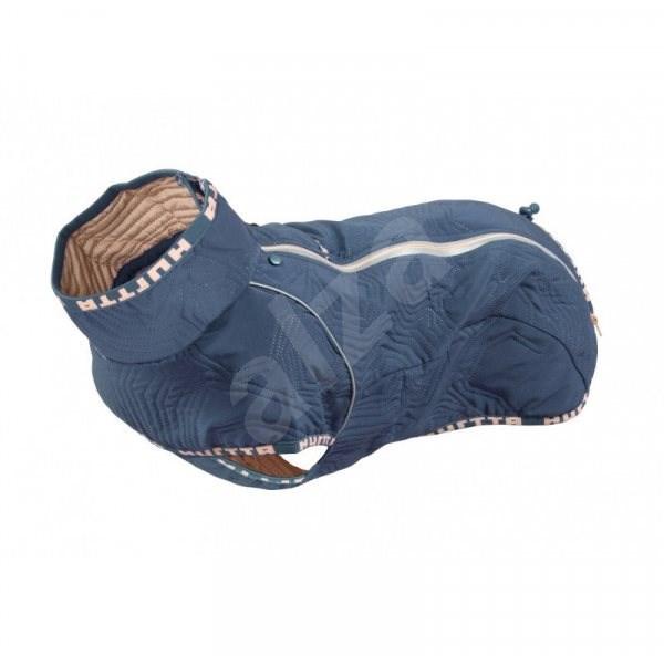 Obleček Hurtta Casual prošívaná bunda modrá 65XL - Obleček pro psy