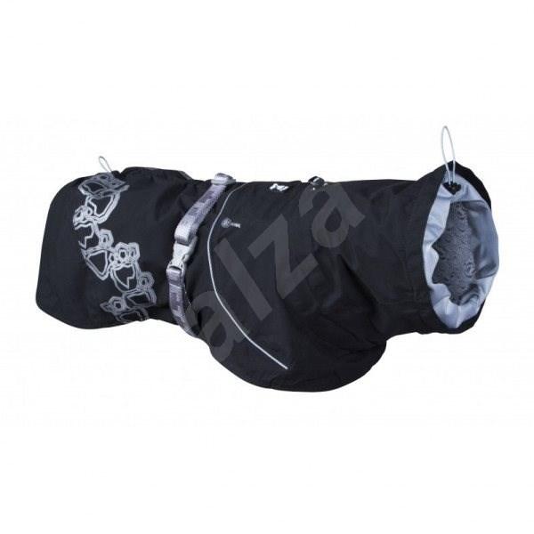 Obleček Hurtta Drizzle coat černá 20 - Pláštěnka pro psy