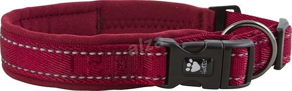 Obojek Hurtta Casual červený 45-55cm - Obojek pro psy