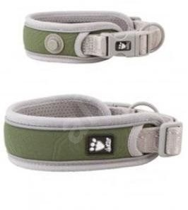 Obojek Hurtta Adventure zelený 55-65cm - Obojek pro psy