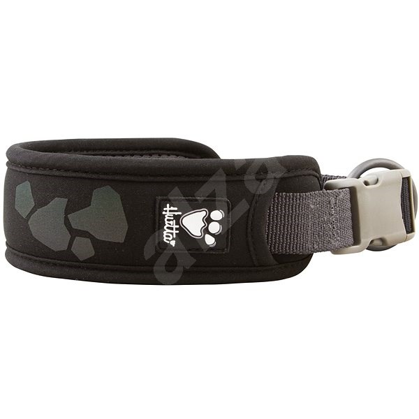 Obojek Hurtta Weekend Warrior černý 45-55cm - Obojek pro psy